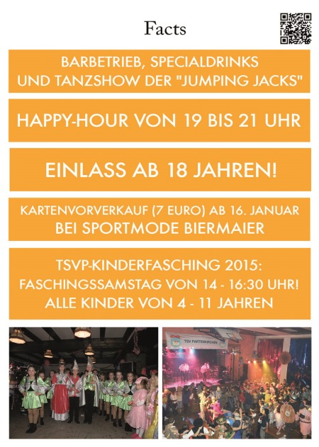 Kinderfaschingsball 2015!